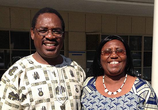 Dr. David and Ann Kitonga